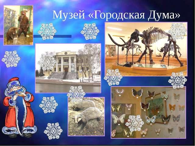 Музей «Городская Дума»