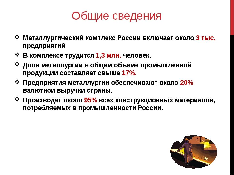 Значение металлургического комплекса По уровню развития металлургии всегда оп...