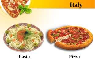 Italy Pasta Pizza