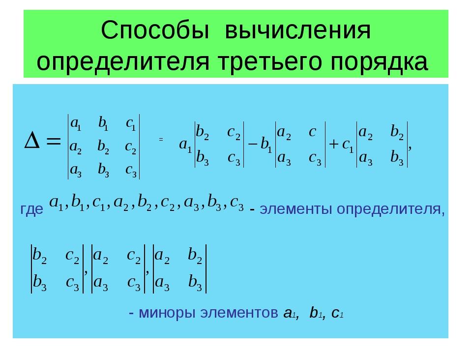 12 пример: перемножить матрицы и решение