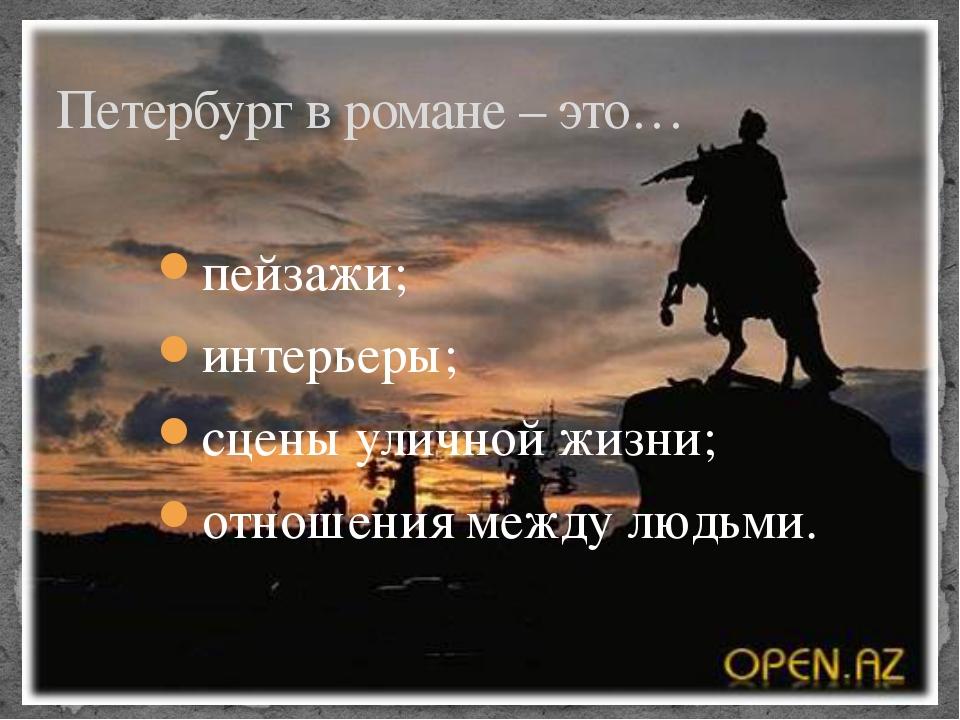 пейзажи; интерьеры; сцены уличной жизни; отношения между людьми. Петербург в...