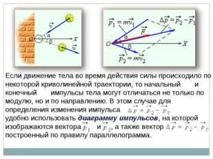 Если движение тела во время действия силы происходило по некоторой криволиней