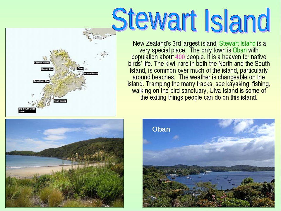 New Zealand's 3rd largest island, Stewart Island is a very special place. Th...