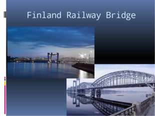 Finland Railway Bridge