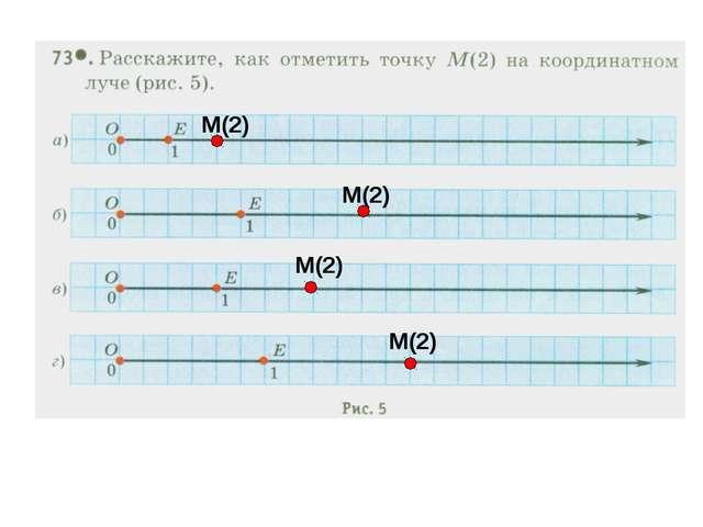 М(2) М(2) М(2) М(2)
