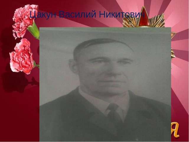 Цакун Василий Никитович.