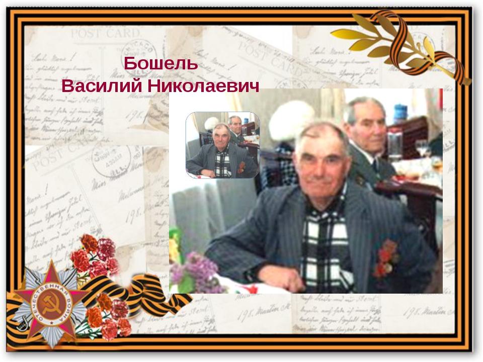 Бошель Василий Николаевич