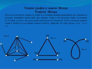 В случае, изображенном на рисунке1, все условия теоремы Эйлера выполнены, m=