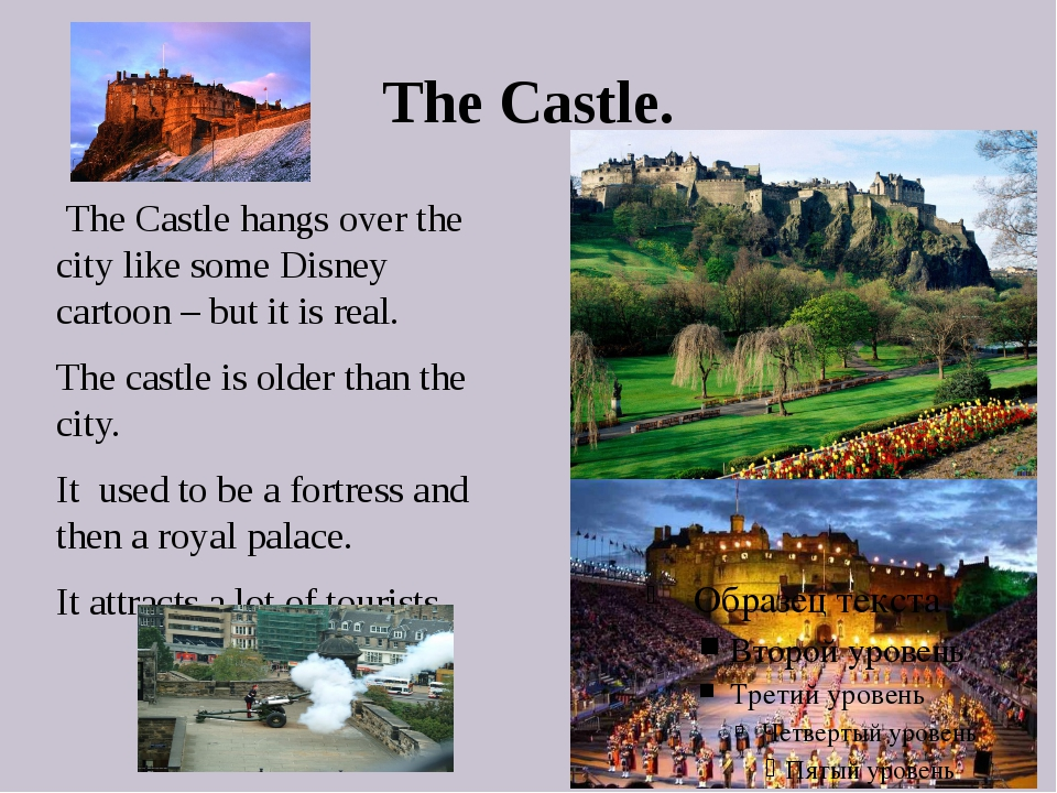 The Castle. The Castle hangs over the city like some Disney cartoon – but it...