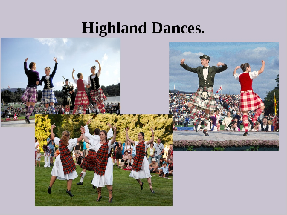 Highland Dances.