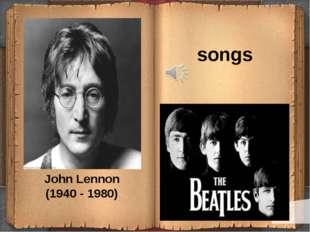 John Lennon (1940 - 1980) songs