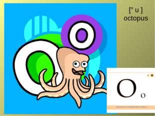 [əu ] octopus