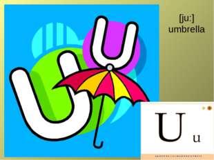 [ju:] umbrella