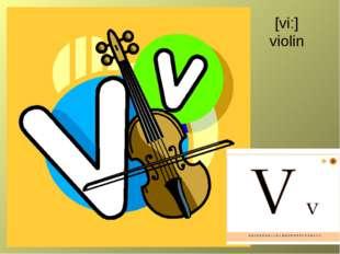 [vi:] violin