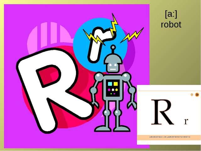 [a:] robot