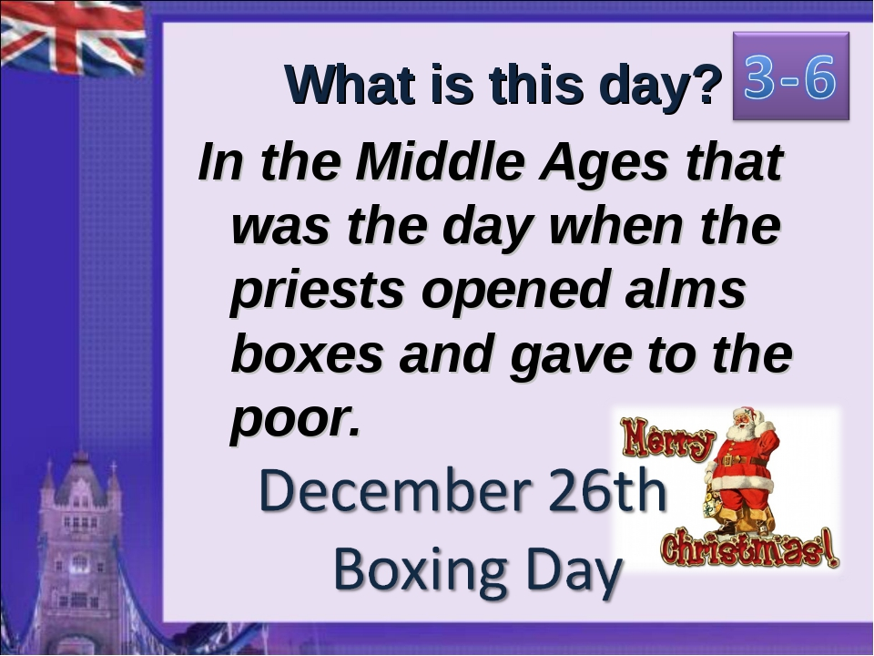 What is this day? In the Middle Ages that was the day when the priests opened...