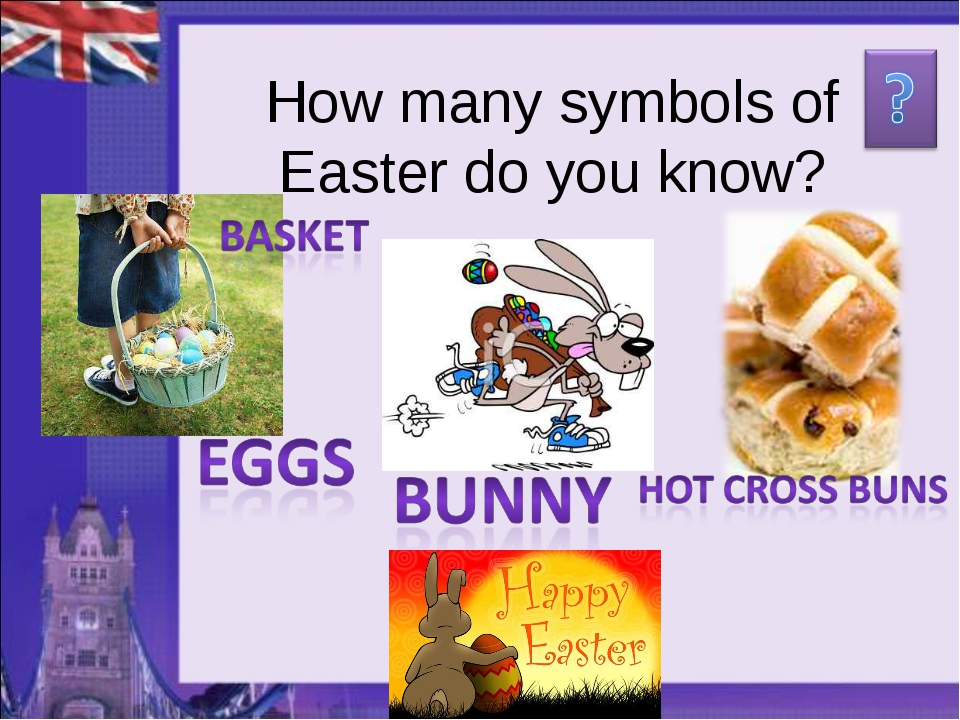 How many symbols of Easter do you know?