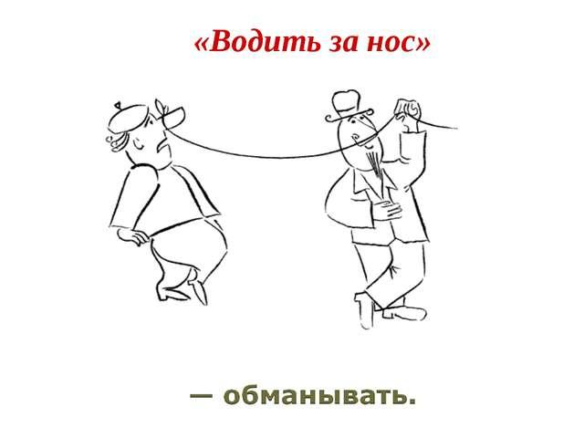 «Водить за нос»
