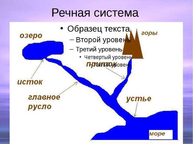 Речная система