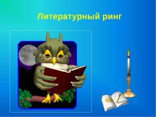 Литературный ринг