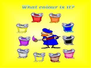 red yellow purple grey brown white black blue orange pink
