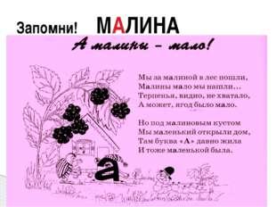 Запомни! МАЛИНА