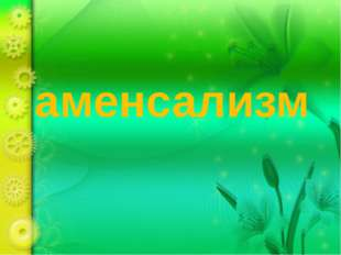 аменсализм