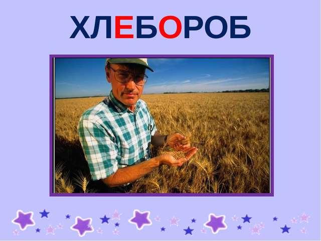ХЛЕБОРОБ