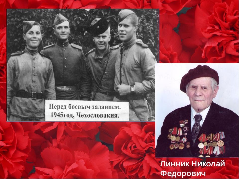 Линник Николай Федорович