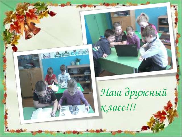Наш дружный класс!!!