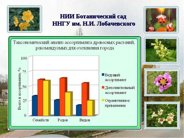 НИИ Ботанический сад ННГУ им. Н.И. Лобачевского