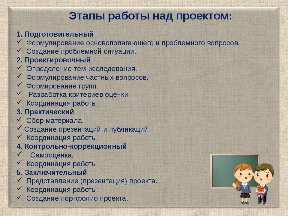 1. Подготовительный Формулирование основополагающего и проблемного вопросов...