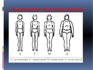 Определение типа телосложения