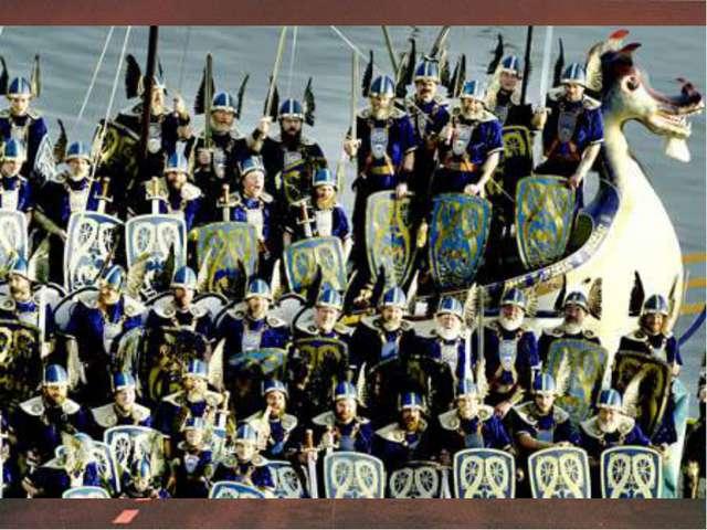 В 9 веке на Шетландские острова, что рядом с побережьем Шотландии, напали вик...