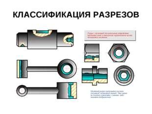 КЛАССИФИКАЦИЯ PАЗPЕЗОВ