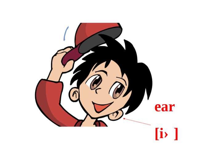 ear [iə]