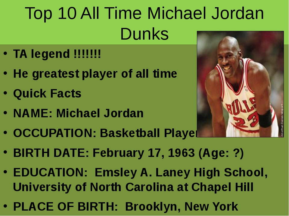 Top 10 All Time Michael Jordan Dunks TA legend !!!!!!! He greatest player of...
