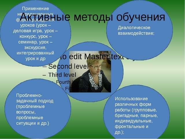 Применение нетрадиционных форм проведения уроков (урок – деловая игра, урок...