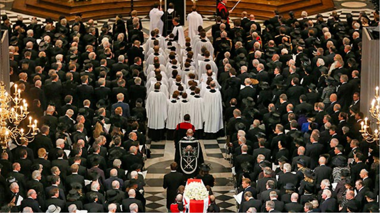 More than a million people came to London to remember her. Nearly all of the...