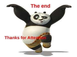 The end Thanks for Attention