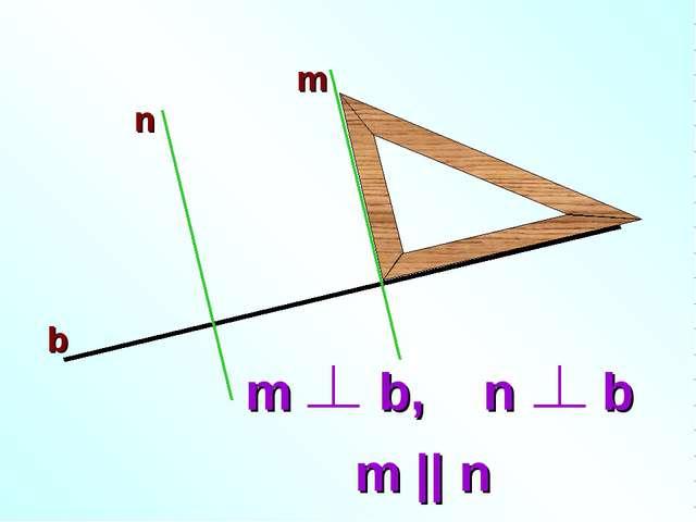 m n b m || n