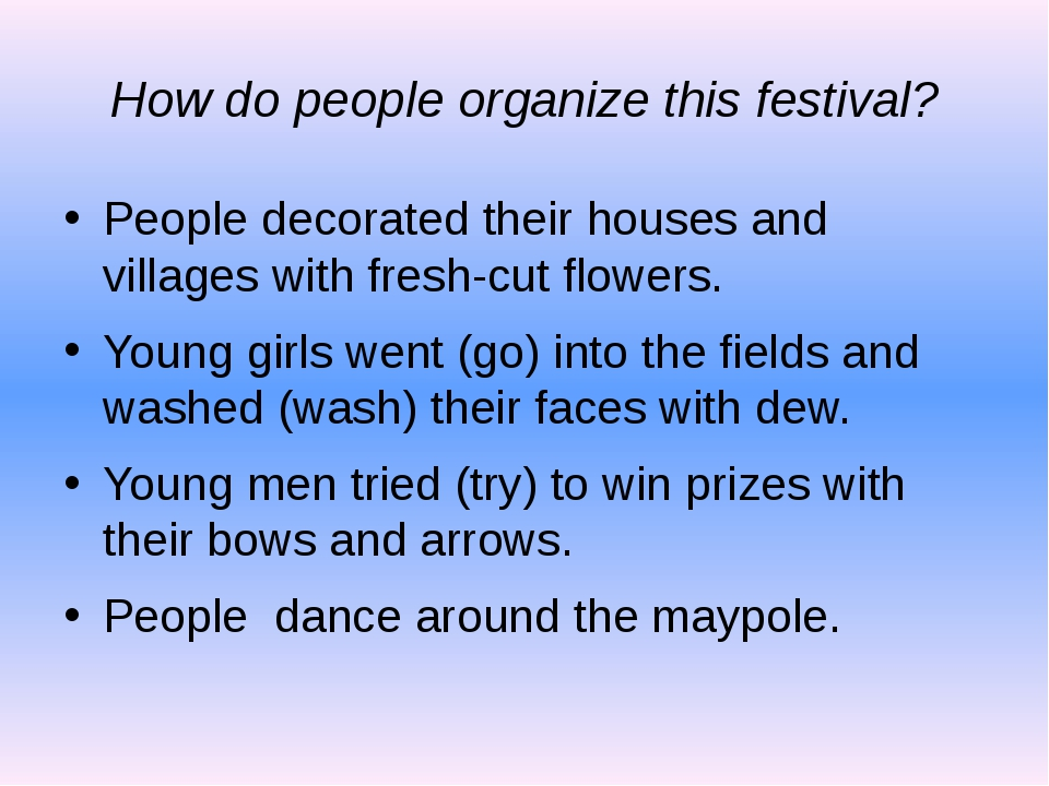 How do people organize this festival? People decorated their houses and villa...