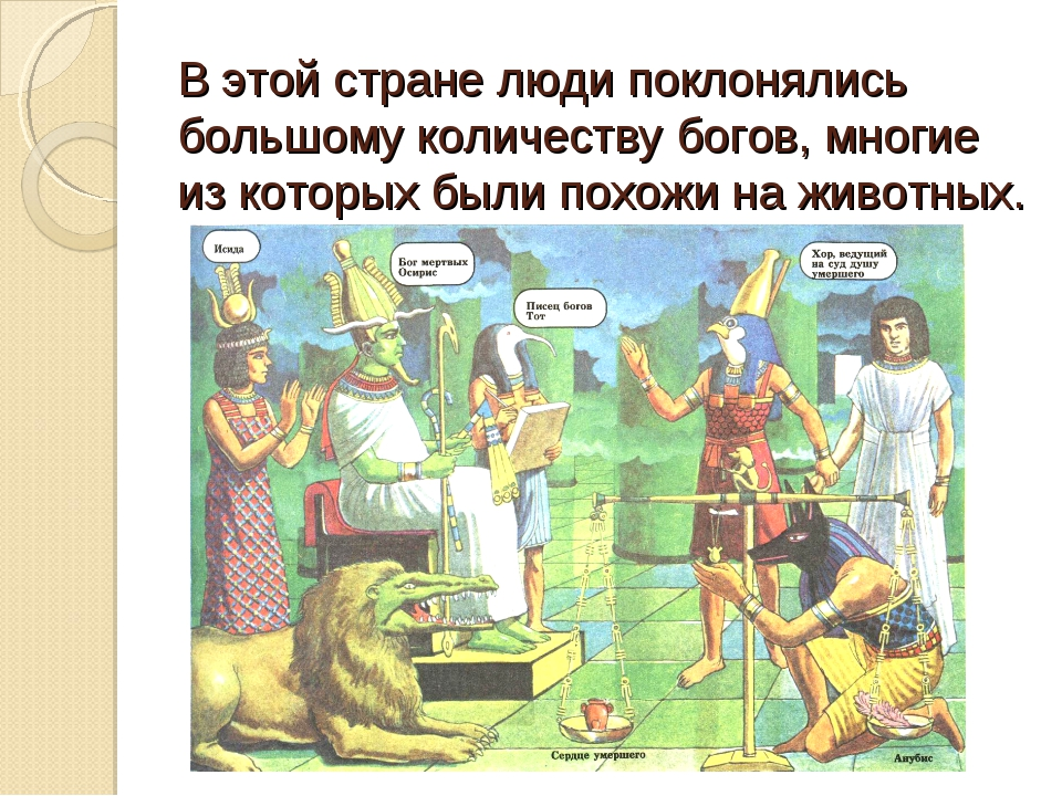 В этой стране люди поклонялись большому количеству богов, многие из которых б...